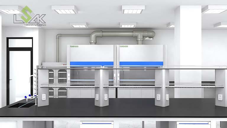 Thiết kế tủ hút khí độc phòng thí nghiệm MAXIHUB