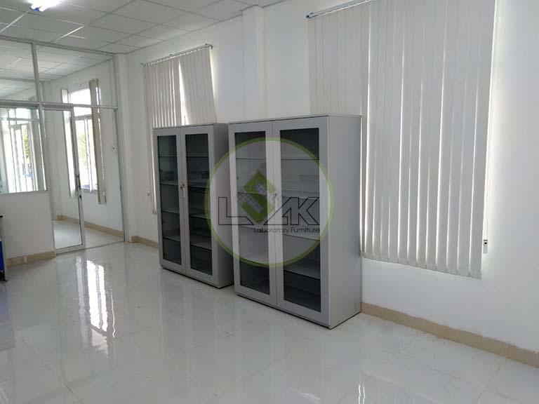 Tủ lưu mẫu phòng thí nghiệm công ty khai thác khoáng sản