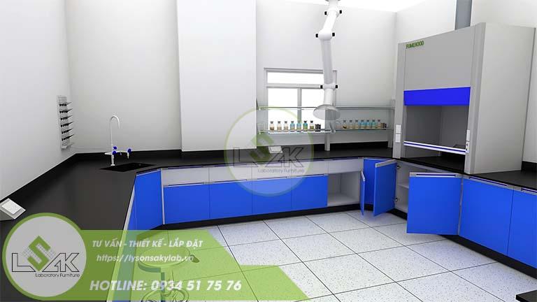 Tủ hút khí độc công ty sản xuất sợi dệt chất lượng cao Xindadong Textiles