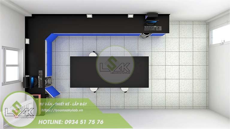 Phòng lab công ty sản xuất sợi dệt chất lượng cao Xindadong Textiles