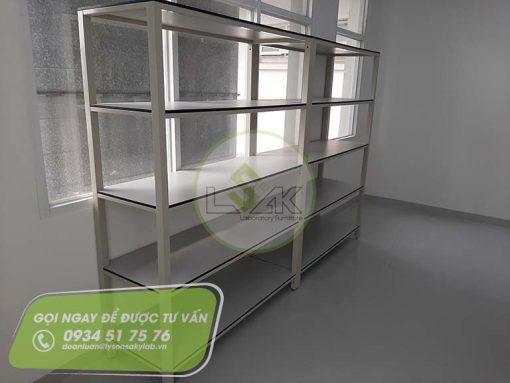 Kệ lưu mẫu phòng lab nhà máy sản xuất sơn Công ty AkzoNobel