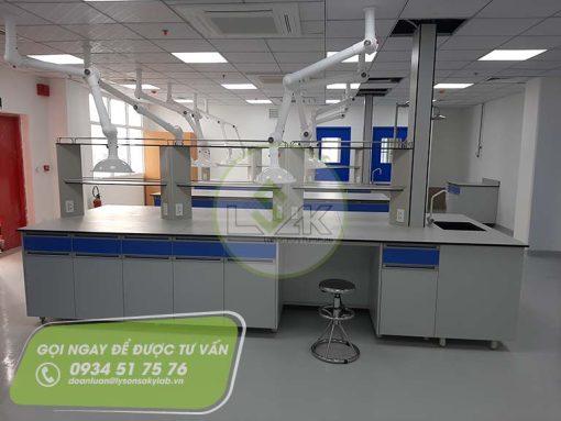 Nội thất phòng thí nghiệm nhà máy sản xuất sơn Công ty AkzoNobel
