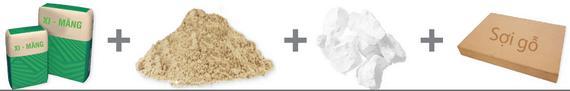 Thành phần tấm Calcium Silicate Duraflex