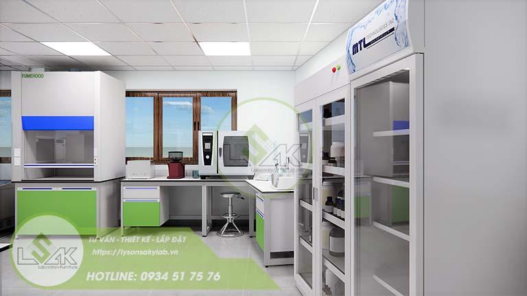 Tủ mát phòng lab nghiên cứu và Phát triển công nghệ sinh học