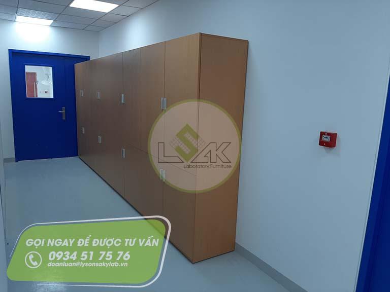 Tủ đựng hồ sơ nhà máy sản xuất sơn Công ty AkzoNobel