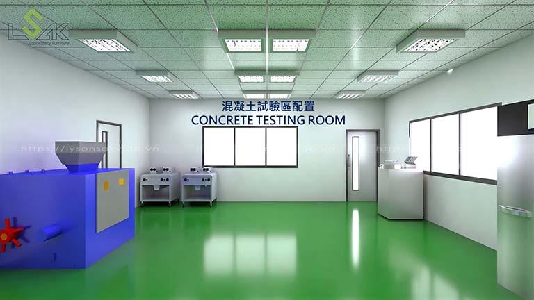 Phòng Concrete Testing