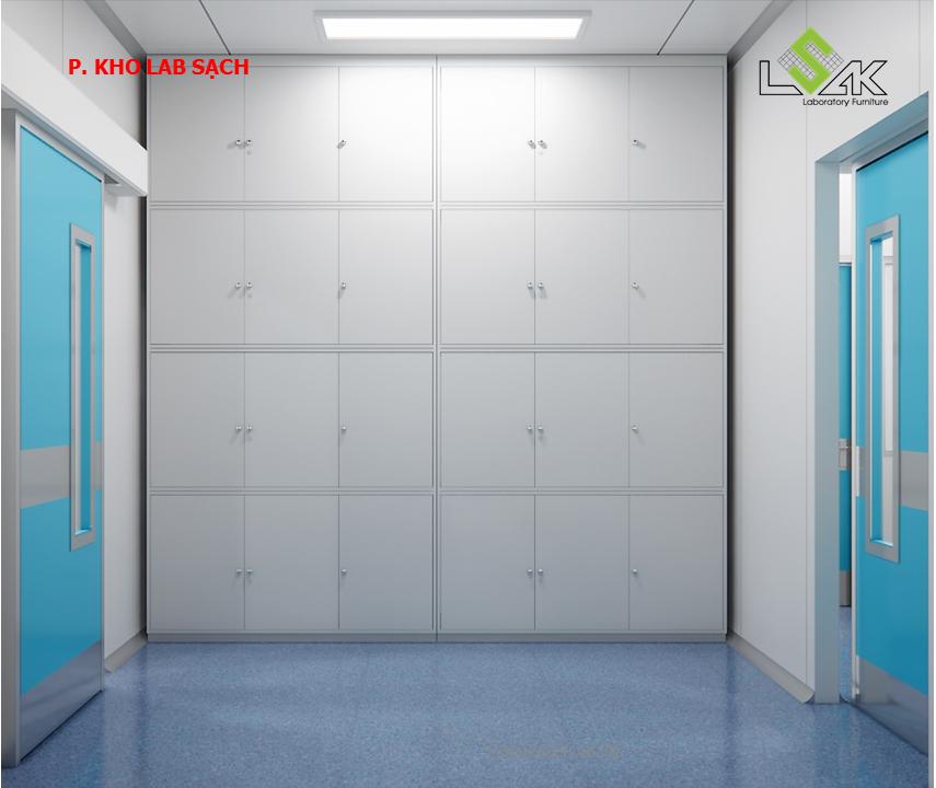 Phong kho lab sạch