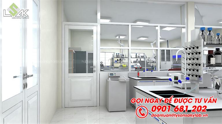 Thiết kế cải tạo thi công phòng thí nghiệm thuốc sát trùng VN