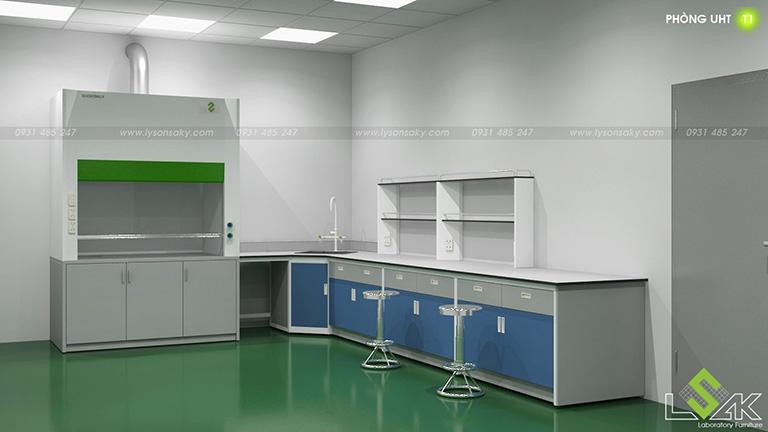 Tủ hút khí độc phòng UHT