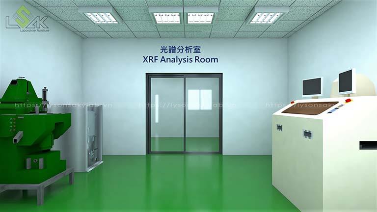 Phòng XRF Analysis