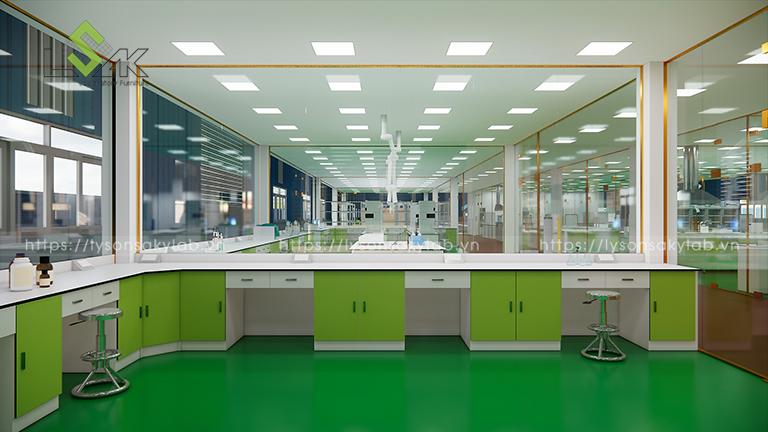 Phòng QA thiết kế phòng thí nghiệm thuốc cho gia súc, gia cầm