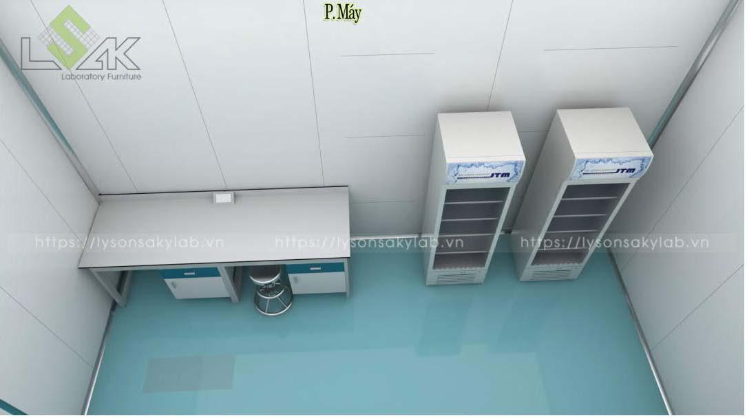 Tủ mát bảo quản mẫu phòng thí nghiệm