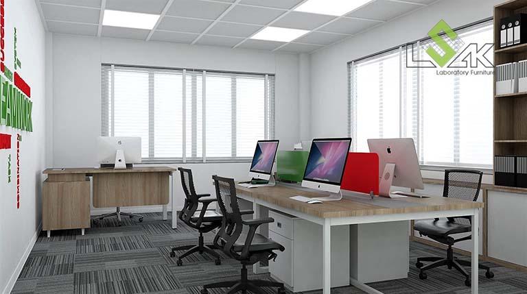 Thiết kế nội thất văn phòng nhà máy sản xuất gia vị thực phẩm