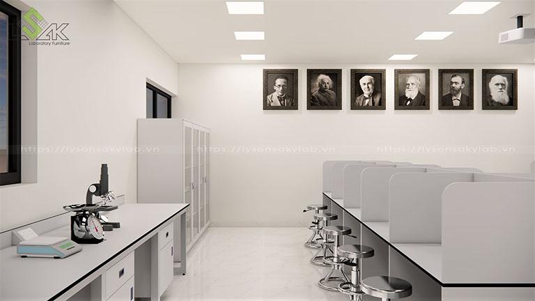 Phòng thí nghiệm cảm quan trường học