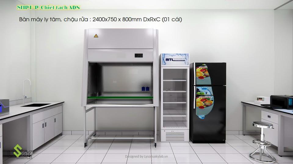 Phòng tách mẫu ADN