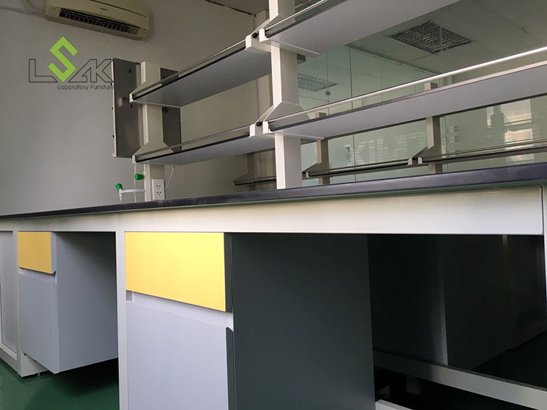 Hộc tủ treo bàn thí nghiệm