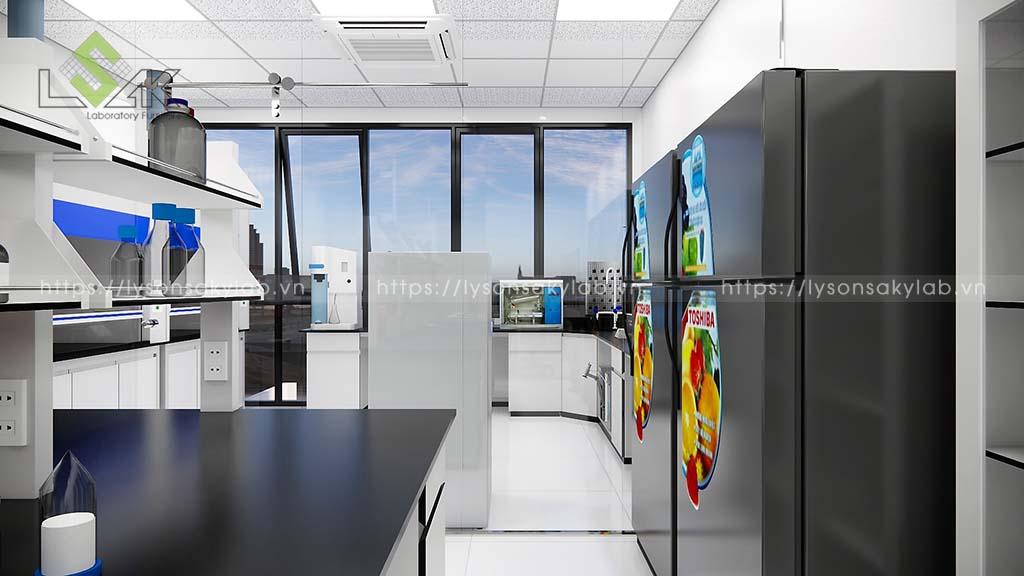 Phòng xử lý mẫu cơ bản