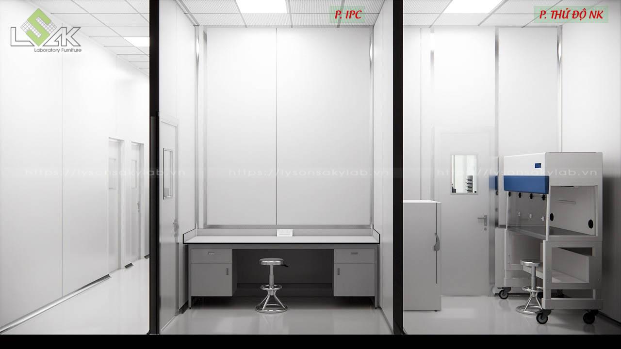 Phòng IPC và thử độ NK