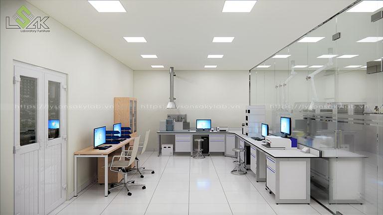 Thiết kế phòng thí nghiệm xi mạ