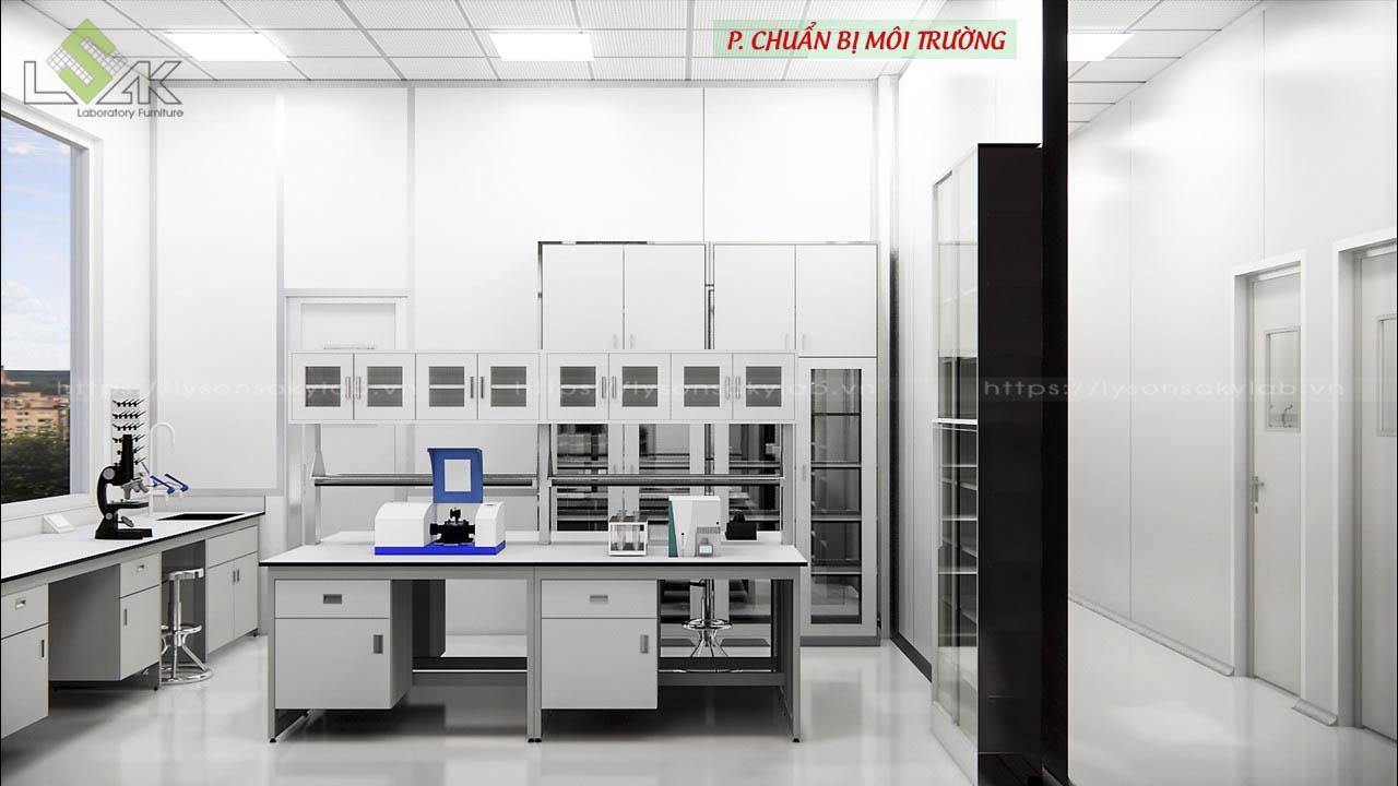 Phòng chuẩn bị môi trường
