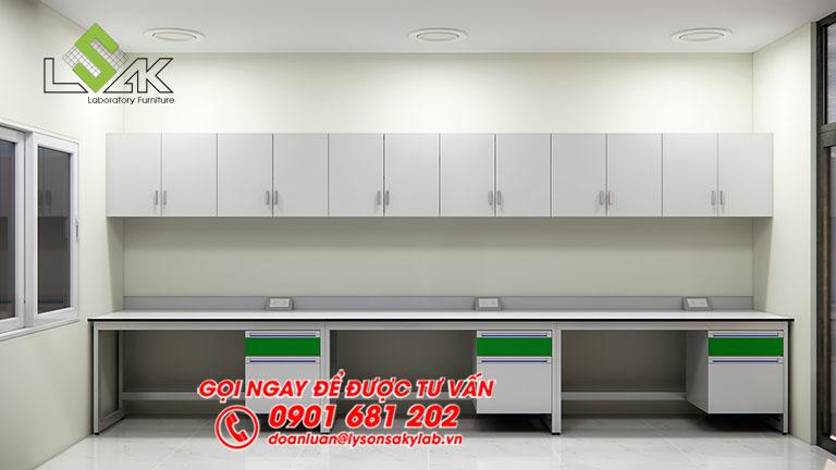 Thiết kế phòng lab TrạmNghiên cứuthực nghiệmKH&CN Bình Định