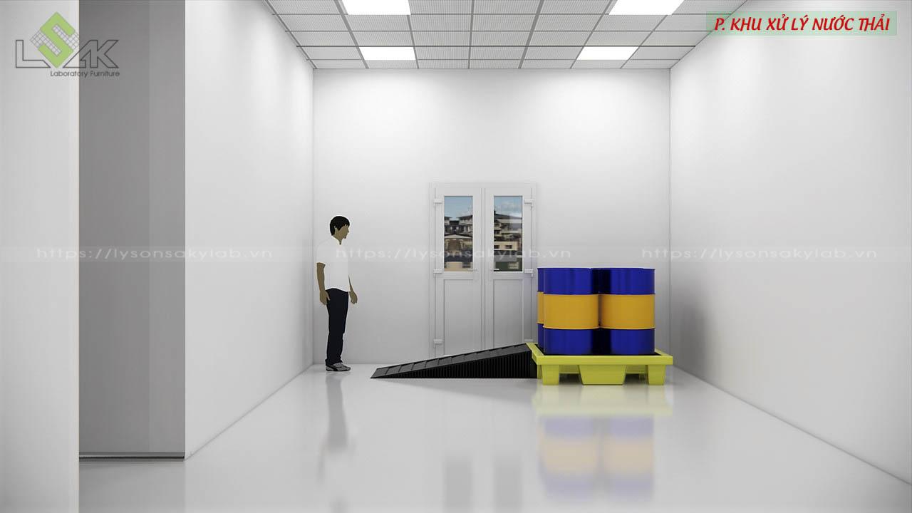 Phòng khu xử lý nước thải
