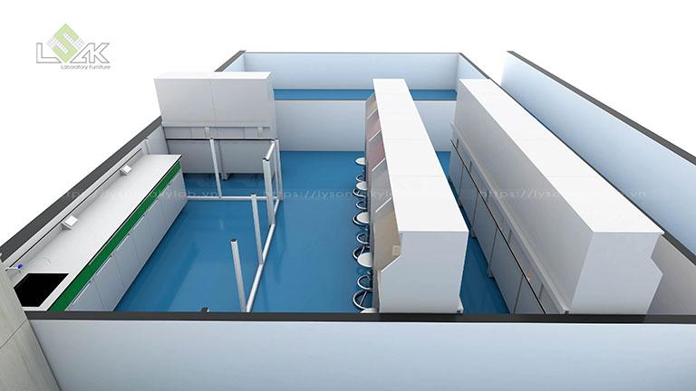 Phòng thí nghiệm cảm quan phòng lab nhà máy nước giải khát
