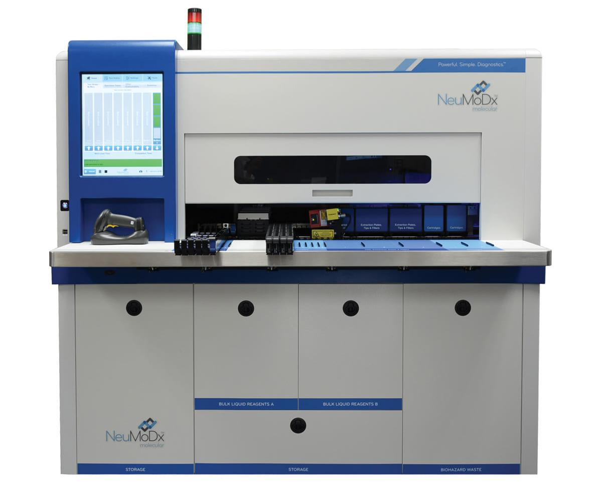 Hệ thống xét nghiệm sinh học phân tử tự động NeuMoDx
