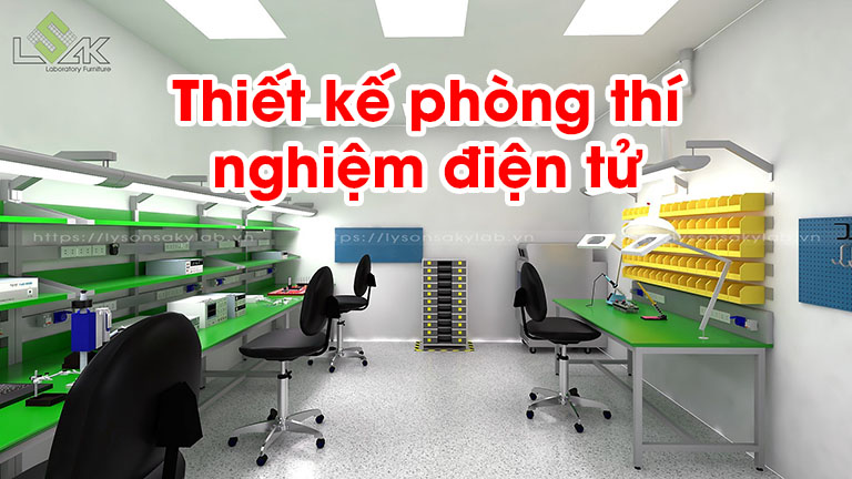 Thiết kế phòng thí nghiệm điện tử, phòng lab hiệu chuẩn thiết bị điện tử