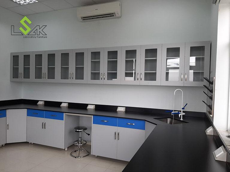 Thi công nội thất phòng lab Trang trại bò sữa Vinamilk Tây Ninh