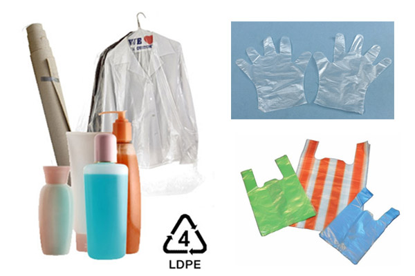 Số 4 – LDPE (nhựa low-density polyethylene)
