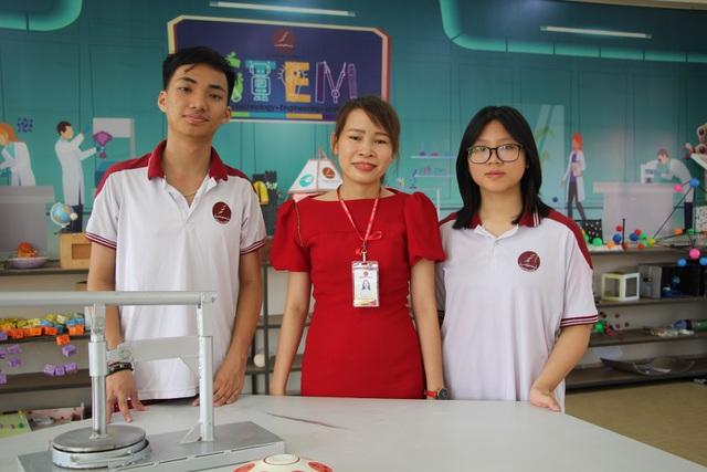 Phòng học STEM Trường Tiểu học, THCS &THPT Hoàng Việt (Trường Hoàng Việt) TP. Buôn Ma Thuột