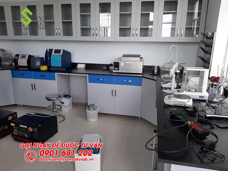 Thi công nội thất phòng thí nghiệm Trang trại bò sữa Vinamilk Tây Ninh