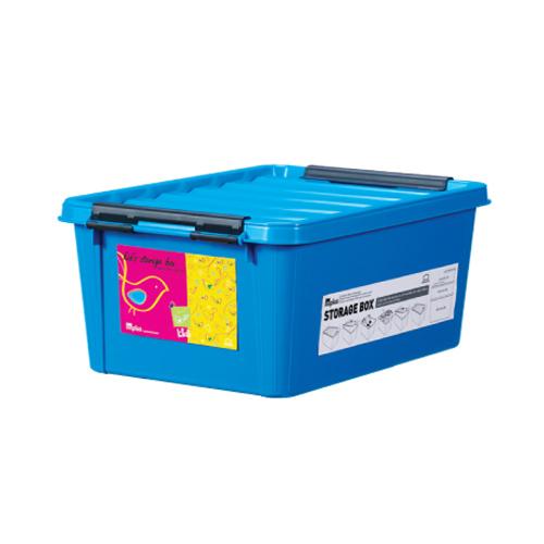 INP111B-T - Thùng đựng đồ bằng nhựa Inplus Easy Clip 15L (Kids Xanh dương)