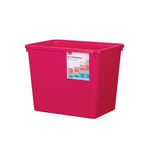 INP312P-T - Thùng đựng đồ bằng nhựa Inplus Story 30L - Màu hồng