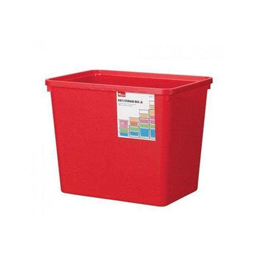 INP312R-T - Thùng đựng đồ bằng nhựa Inplus Story 30L (đỏ)