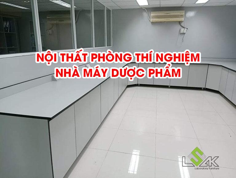 Nội thất phòng thí nghiệm nhà máy dược phẩm