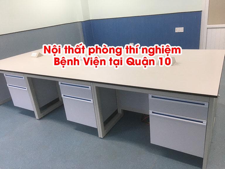 Thi công nội thất phòng thí nghiệm bệnh viện