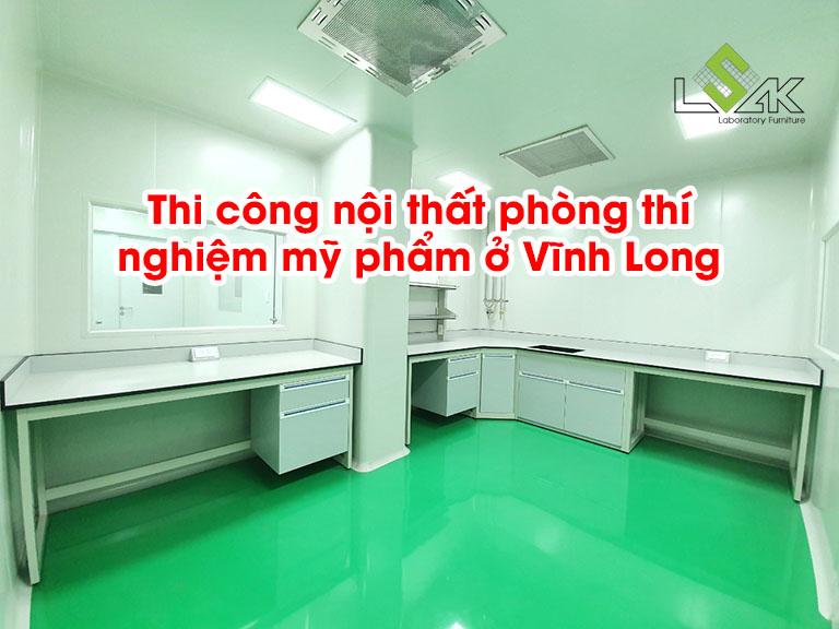 Thi công nội thất phòng thí nghiệm mỹ phẩm ở Vĩnh Long