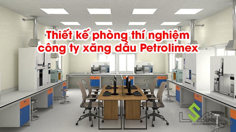 Thiết kế phòng thí nghiệm công ty xăng dầu Petrolimex