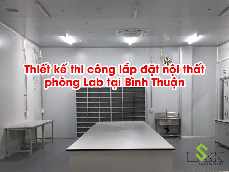 Thiết kế thi công nội thất phòng Lab tại Bình Thuận