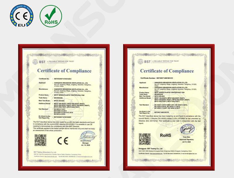 Sản phầm này đạt chứng nhận CE của EU và kiểm tra ROHS bảo vệ môi trường CE ROHS EU