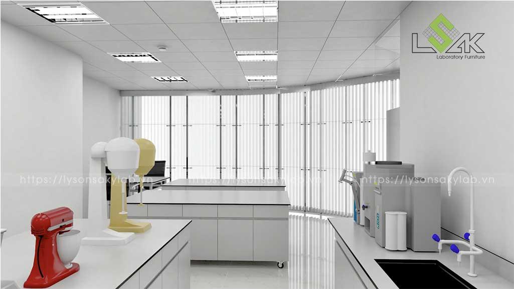 Tư vấn thiết kế phòng lab mỹ phẩm Connell Bros Vietnam