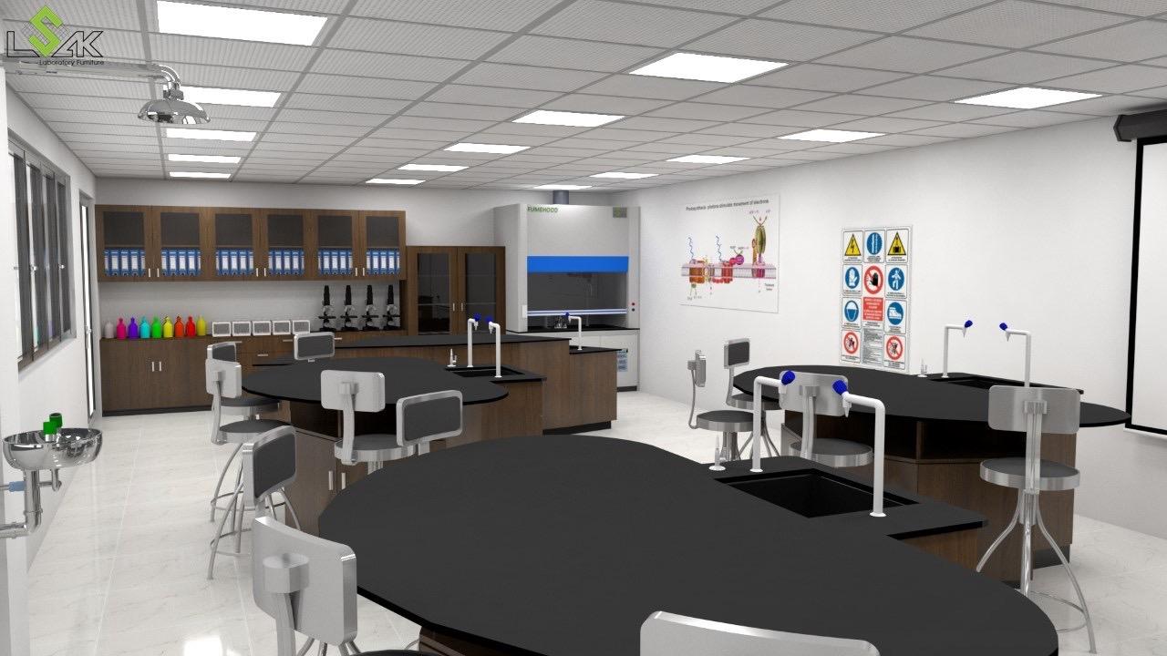 Phòng thí nghiệm trường học quốc tế Quận 2