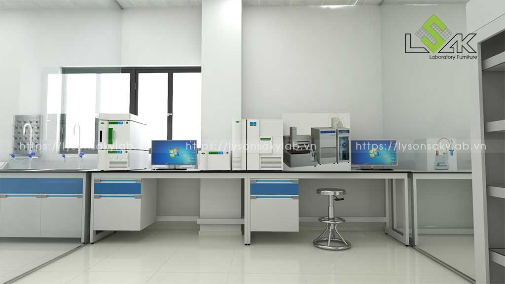 Thiết kế phòng thí nghiệm nhà máy nước